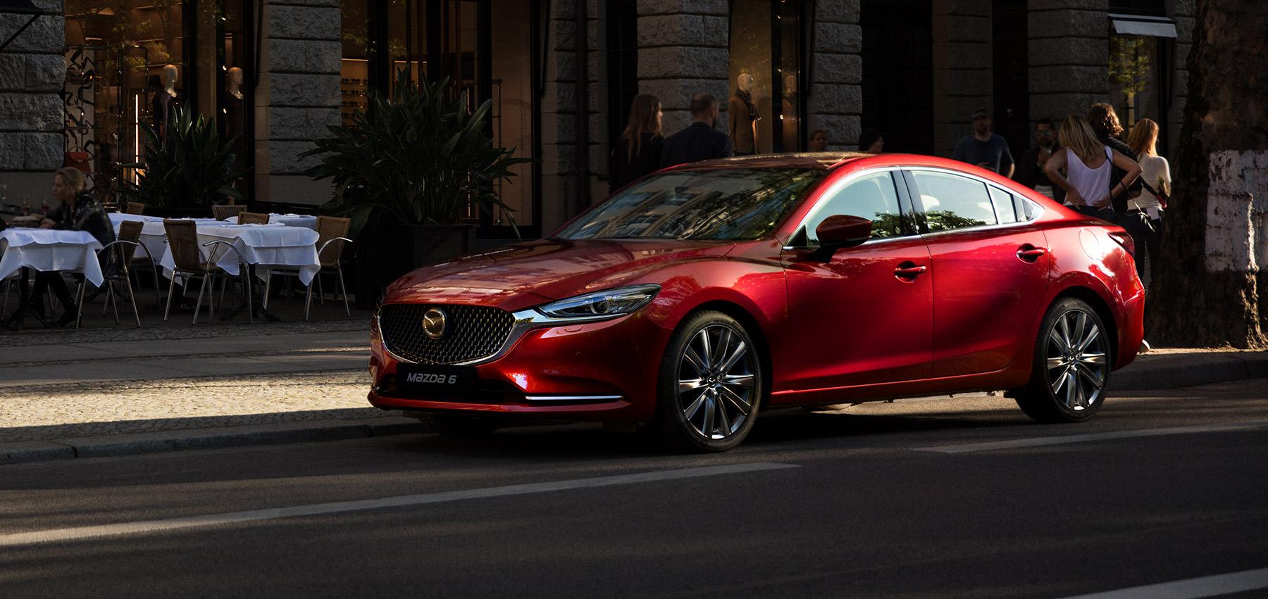 Młodzieńczy Mazda 6 Sedan to połączenie elegancji i stylu dla Ciebie i twojej BD32